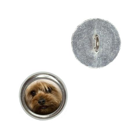 Yorkshire Terrier Yorkie Dog Buttons - Set of 4