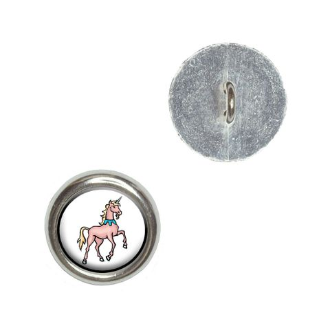 Unicorn - Fantasy Buttons - Set of 4