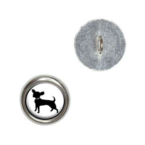 Chihuahua Buttons - Set of 4