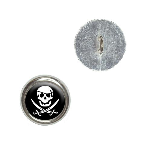 Pirate Buttons - Set of 4