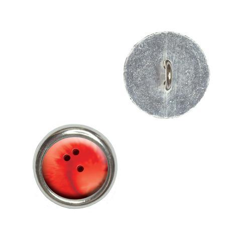 Bowling Ball Sporting Goods Sportsball Buttons - Set of 4