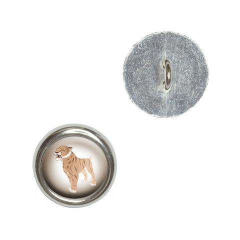 Saber-toothed Cat - Sabertooth Tiger Dinosaur Buttons - Set of 4