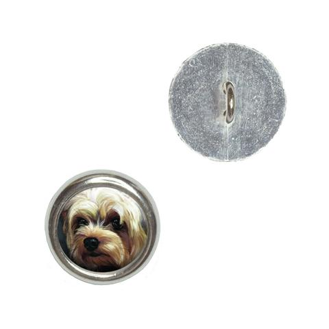 Yorkshire Terrier - Yorkie Dog Pet Buttons - Set of 4