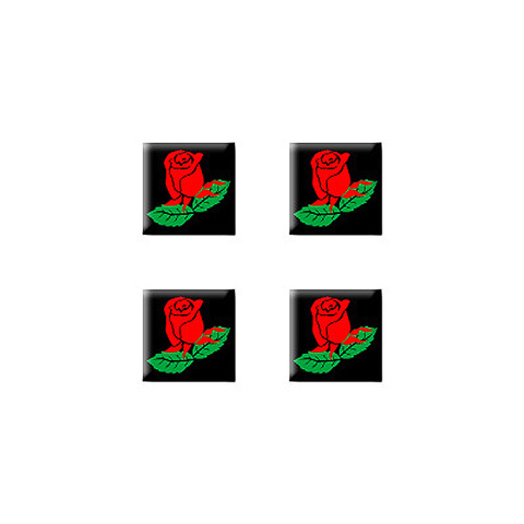 Rose Set of 3D Stickers - No. 1