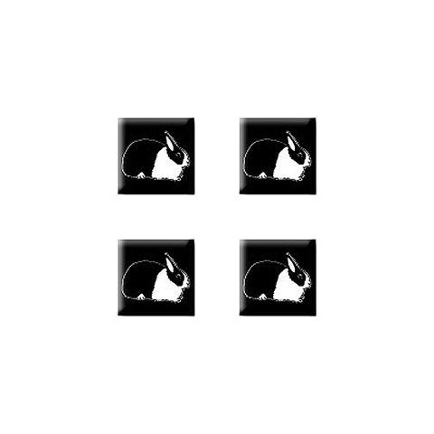 Dutch Rabbit Set of 3D Stickers - No. 1