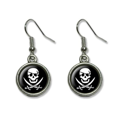 Pirate Dangling Drop Earrings