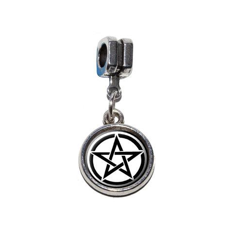 Pentagram - Pentangle Star Wiccan Witch European Style Bracelet Charm