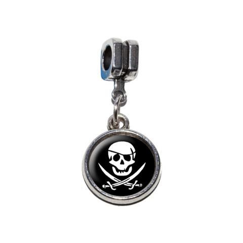 Pirate European Style Bracelet Charm