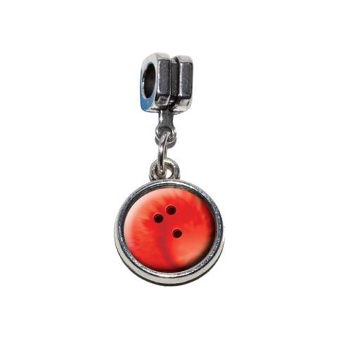 Bowling Ball Sporting Goods Sportsball European Style Bracelet Charm