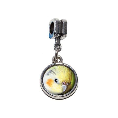 Cockatiel - Bird Pet European Style Bracelet Charm