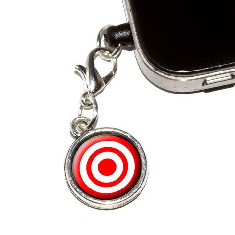 Target Sniper Scope Bullseye Mobile Phone Charm