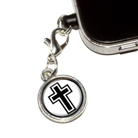 Cross - Christian Religious Mobile Phone Charm