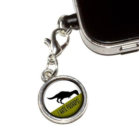 I Hate Pushups - T-Rex Mobile Phone Charm