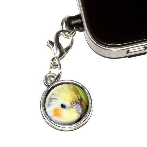 Cockatiel - Bird Pet Mobile Phone Charm