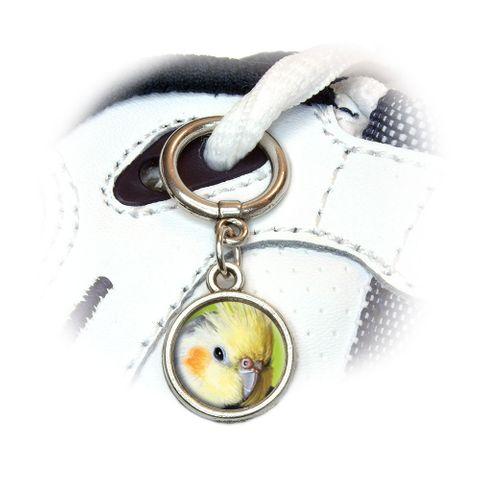 Cockatiel - Bird Pet Shoe Charm