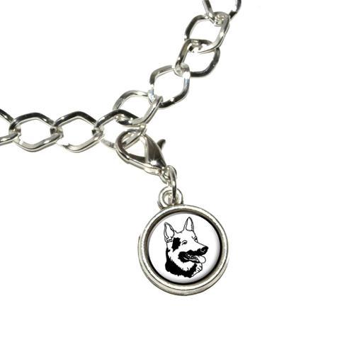 German Shepherd - Dog Bracelet Charm