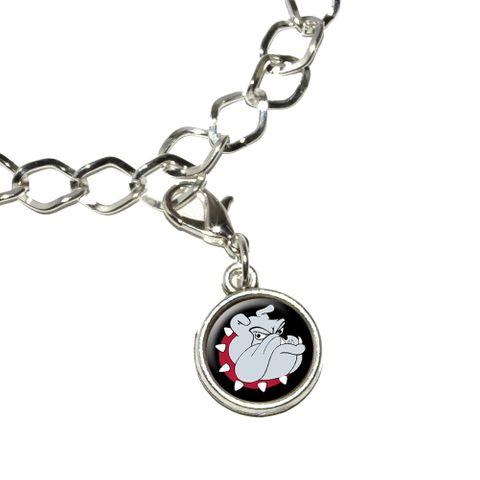 Bulldog Dog Bracelet Charm