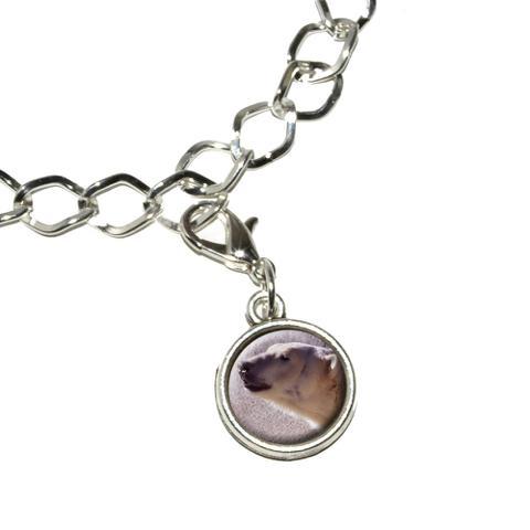 Polar Bear Bracelet Charm