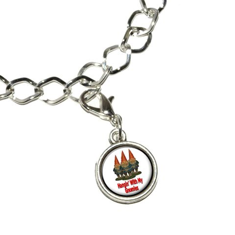 Hangin With My Gnomies - Hanging Gnomes Bracelet Charm