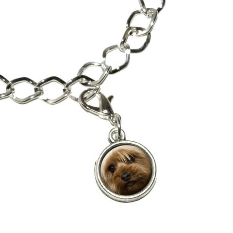 Yorkshire Terrier Yorkie Dog Bracelet Charm