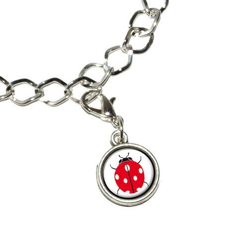 Ladybug Bracelet Charm