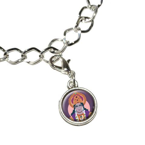 Hindu Deity - Vishnu Bracelet Charm