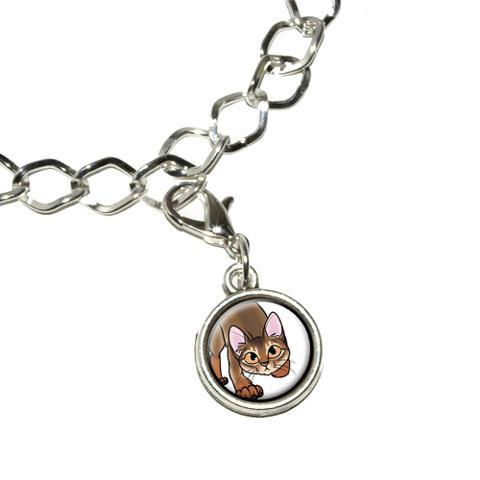 Abyssinian Cat - Pet Bracelet Charm
