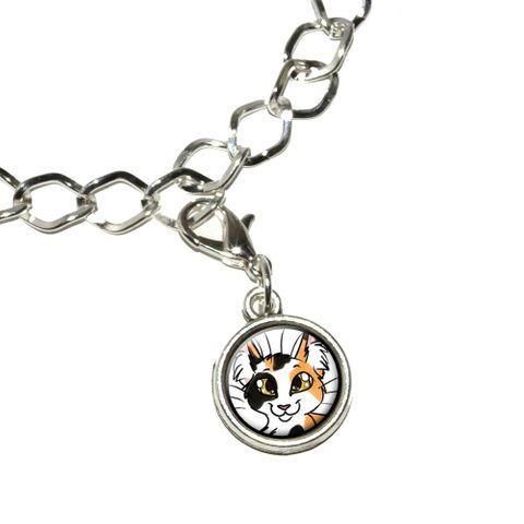 Calico Cat - Pet Bracelet Charm