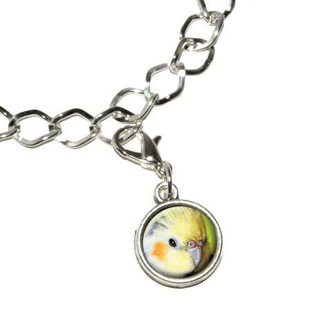 Cockatiel - Bird Pet Bracelet Charm