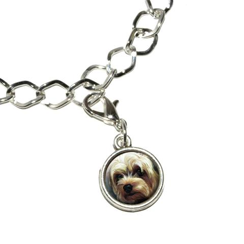 Yorkshire Terrier - Yorkie Dog Pet Bracelet Charm