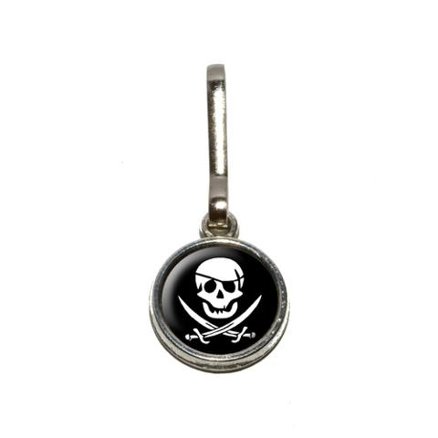 Pirate Charm Zipper Pull