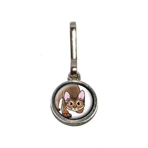 Abyssinian Cat - Pet Charm Zipper Pull