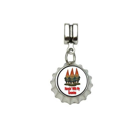 Hangin With My Gnomies - Hanging Gnomes European Style Bracelet Bottlecap Charm