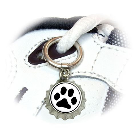 Paw Print - Pet Dog Cat Shoe Bottlecap Charm
