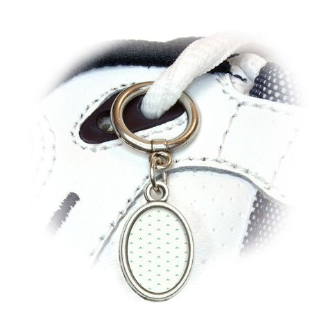 Sweet Petal Parade Oval Shoe Charm