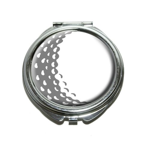 Golf Ball - Golfing Compact Mirror