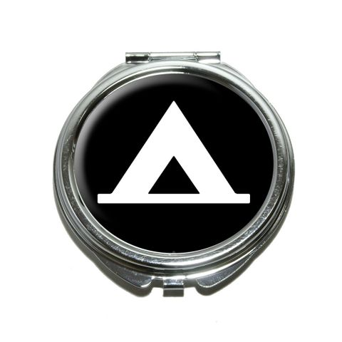 Camping Tent Outdoors Compact Mirror