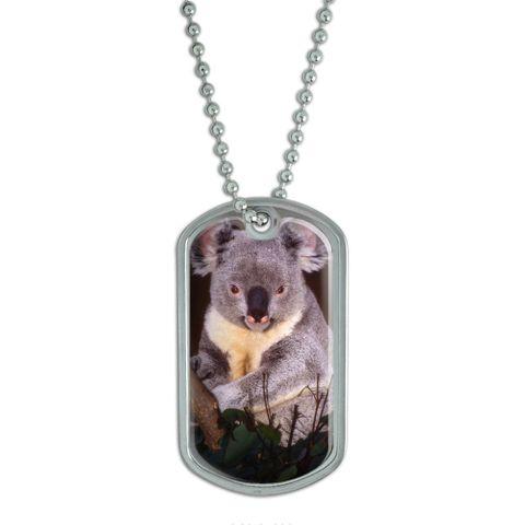 Koala Bear Dog Tag