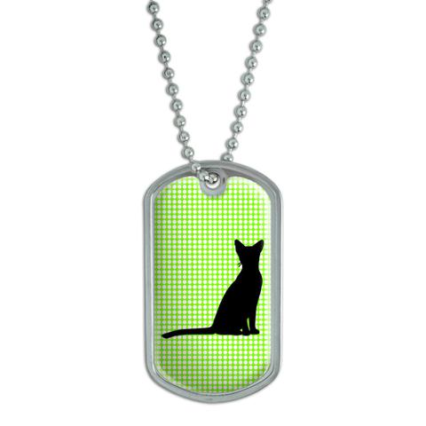 Abyssinian Cat Dog Tag
