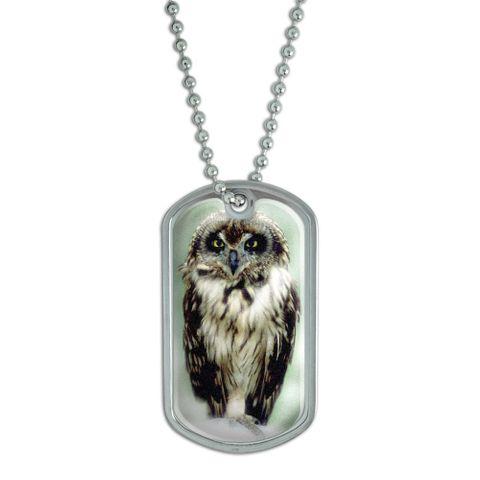 Owl Dog Tag - No. 1