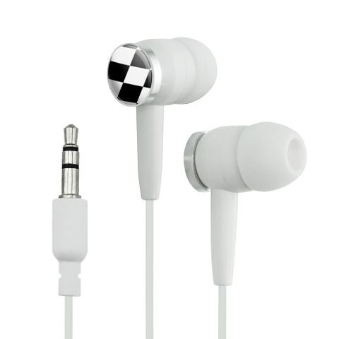 Checkered Flag Racing Novelty In-Ear Earbud Headphones