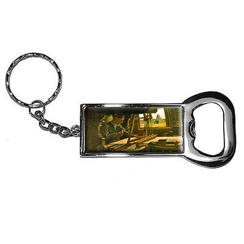 Open Window by Vincent Van Gogh Bottle Opener Keychain