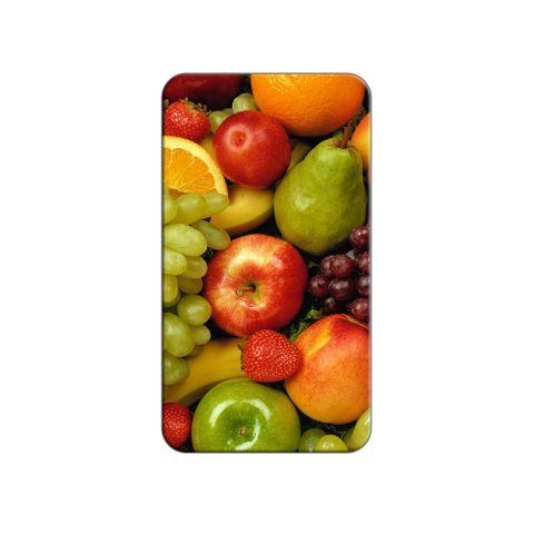 Fruit Bowl - Grapes Apples Strawberries Oranges Lapel Hat Pin Tie Tack