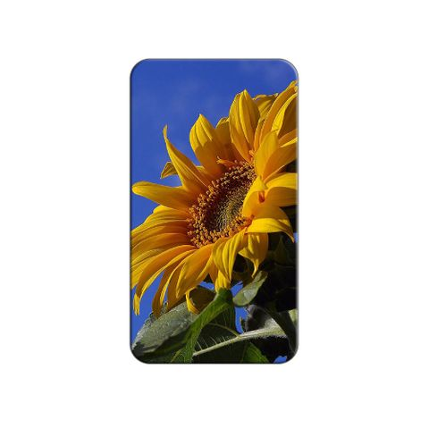 Sunflower Against Blue Sky Lapel Hat Pin Tie Tack