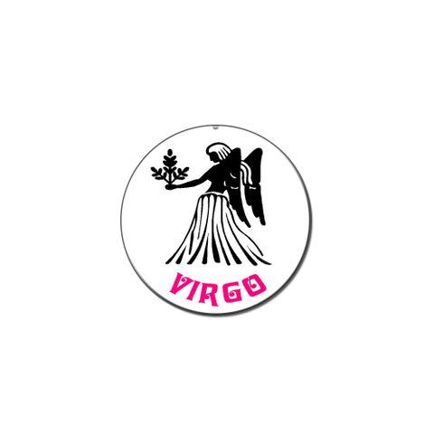 Virgo The Maiden Zodiac Horoscope Lapel Hat Pin Tie Tack Small Round