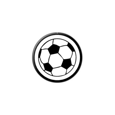 Soccer Ball Lapel Hat Pin Tie Tack Small Round