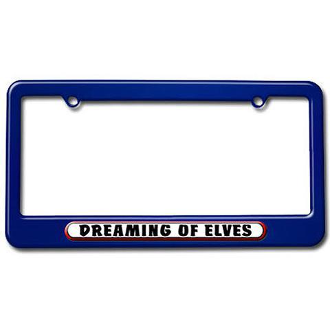 Dreaming of Elves License Plate Frame