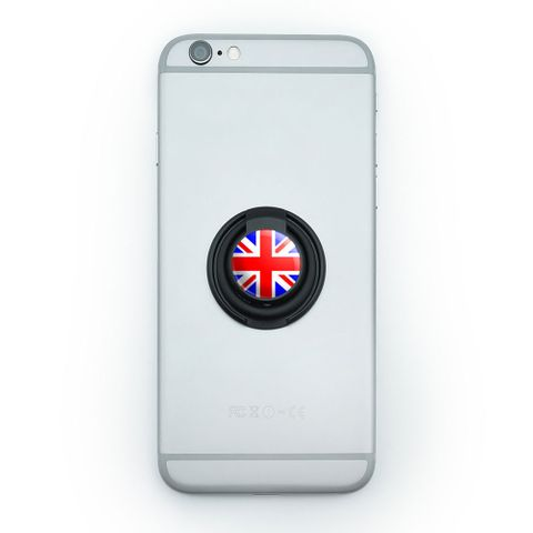 Britain British Flag - Union Jack Mobile Phone Ring Holder Stand