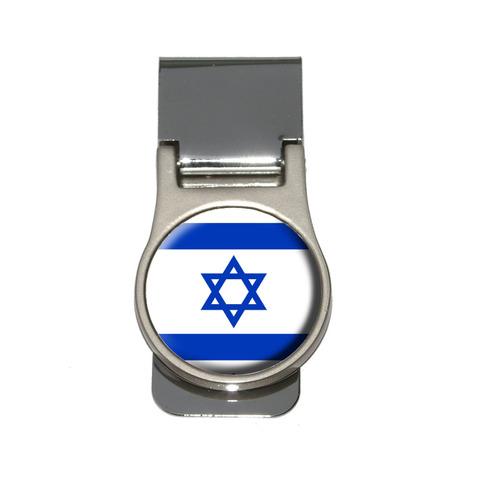 Israel Flag Money Clip