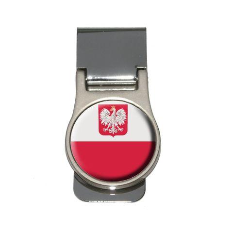 Poland Polish Flag Money Clip